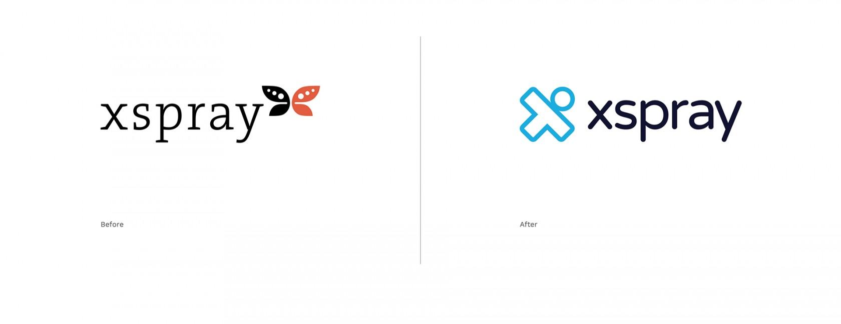 Xspray rebranding