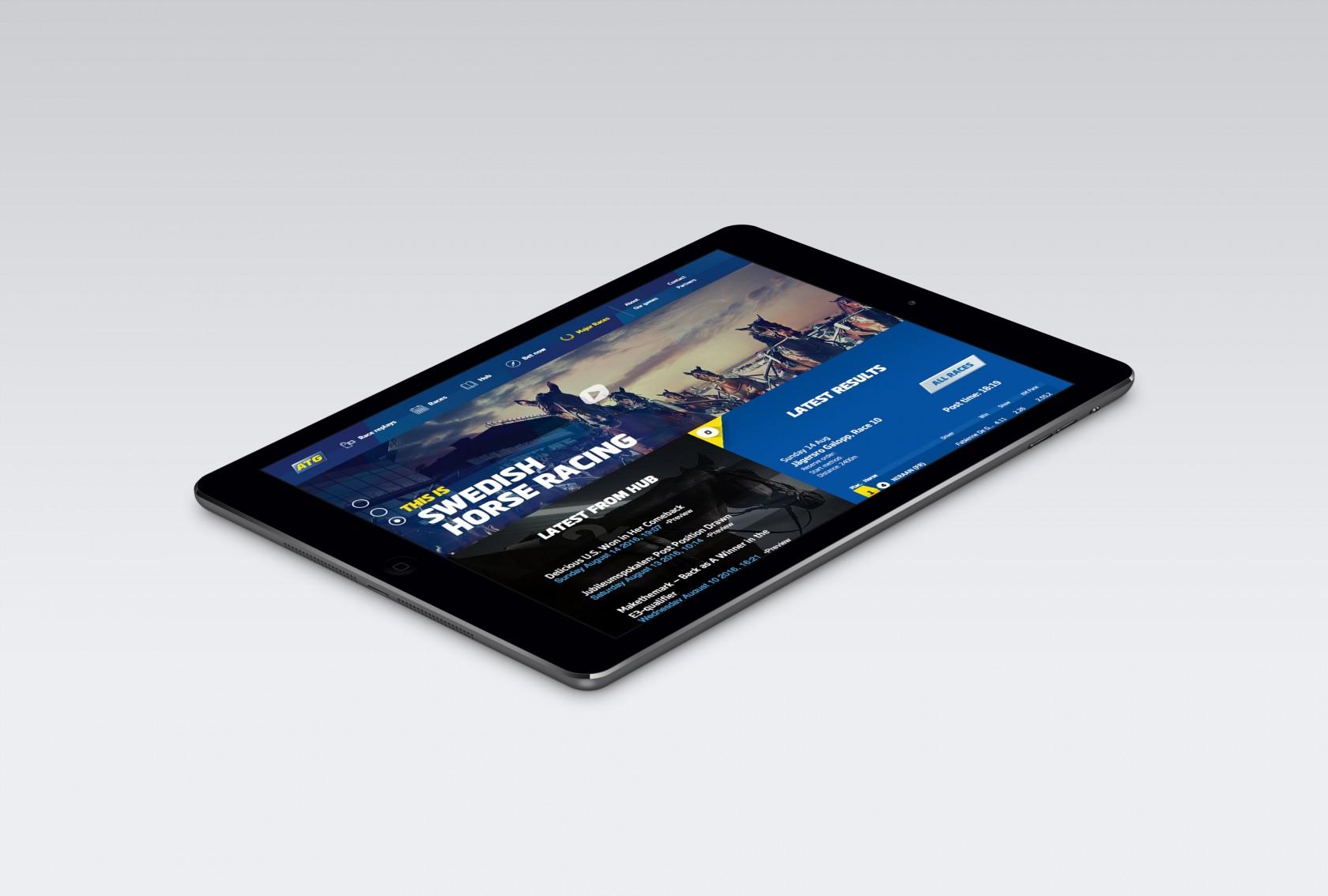 ATG Swedish Horse Racing, applikationer av Phosworks 2