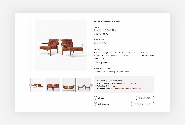 Uppsala Auktionskammare design