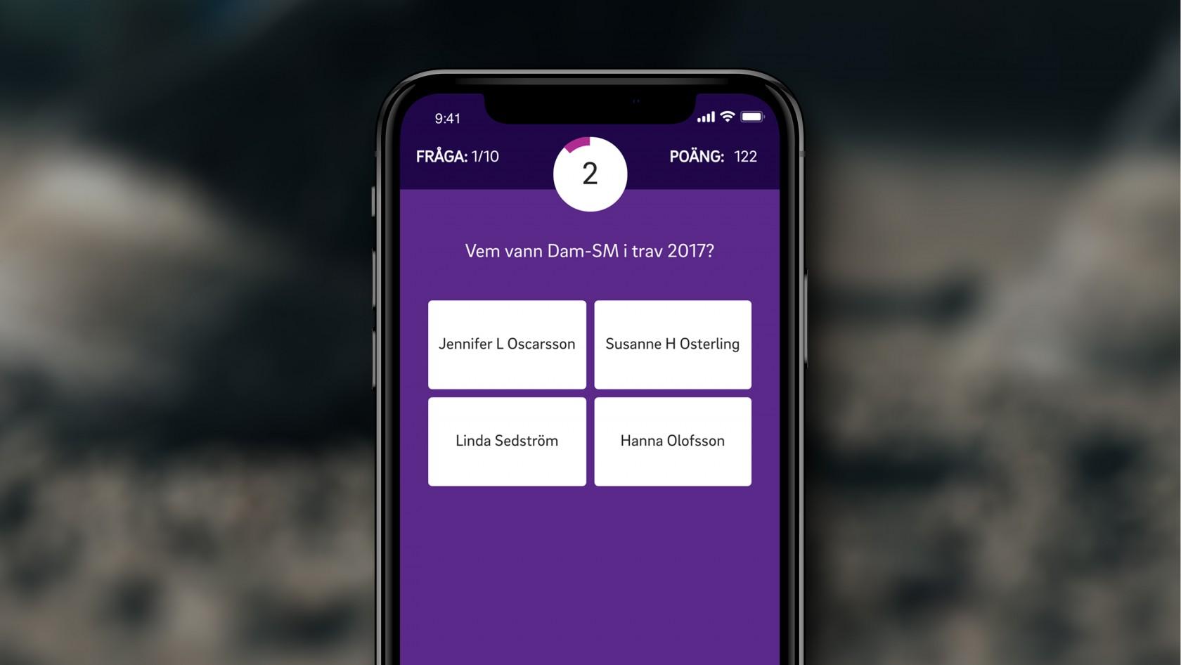 Vinnarcirkeln - Svensk Travsport, en lösning skapad av Phosworks 2