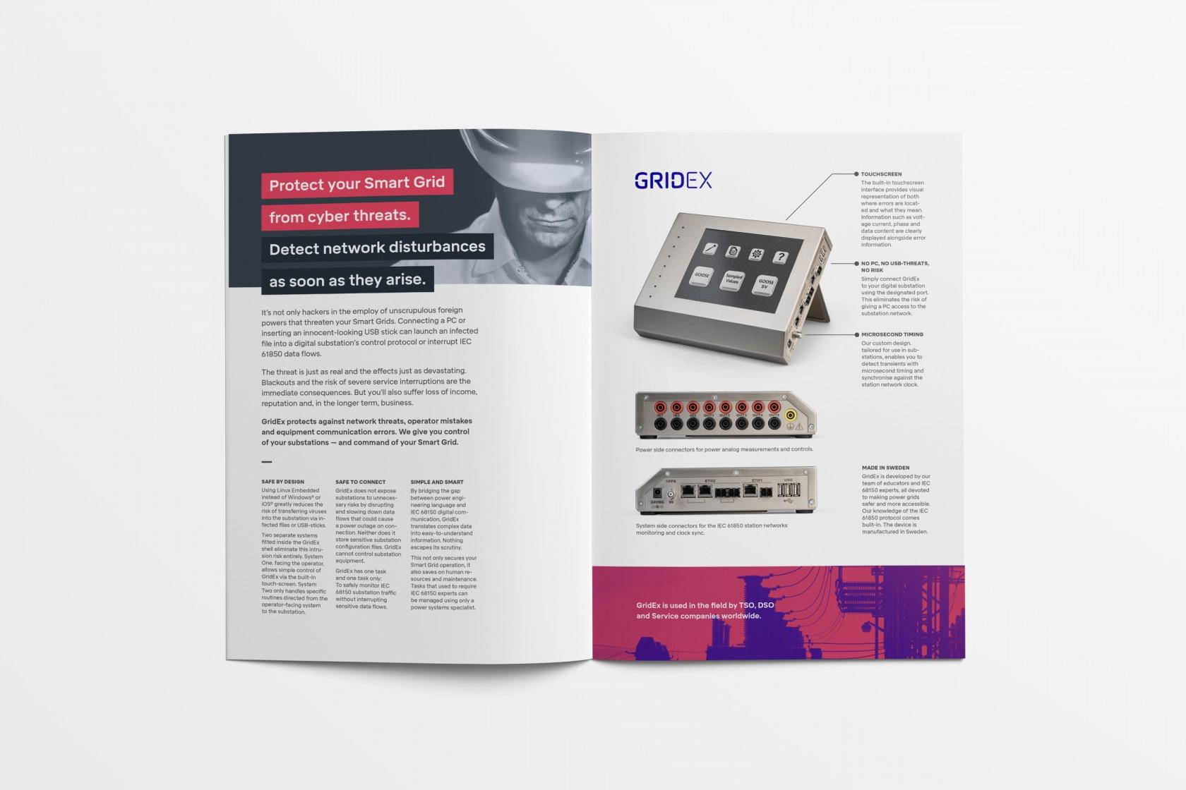 Broschyr till FMTP 4, ett intressant uppdrag inom design & kommunikation av Phosworks 2