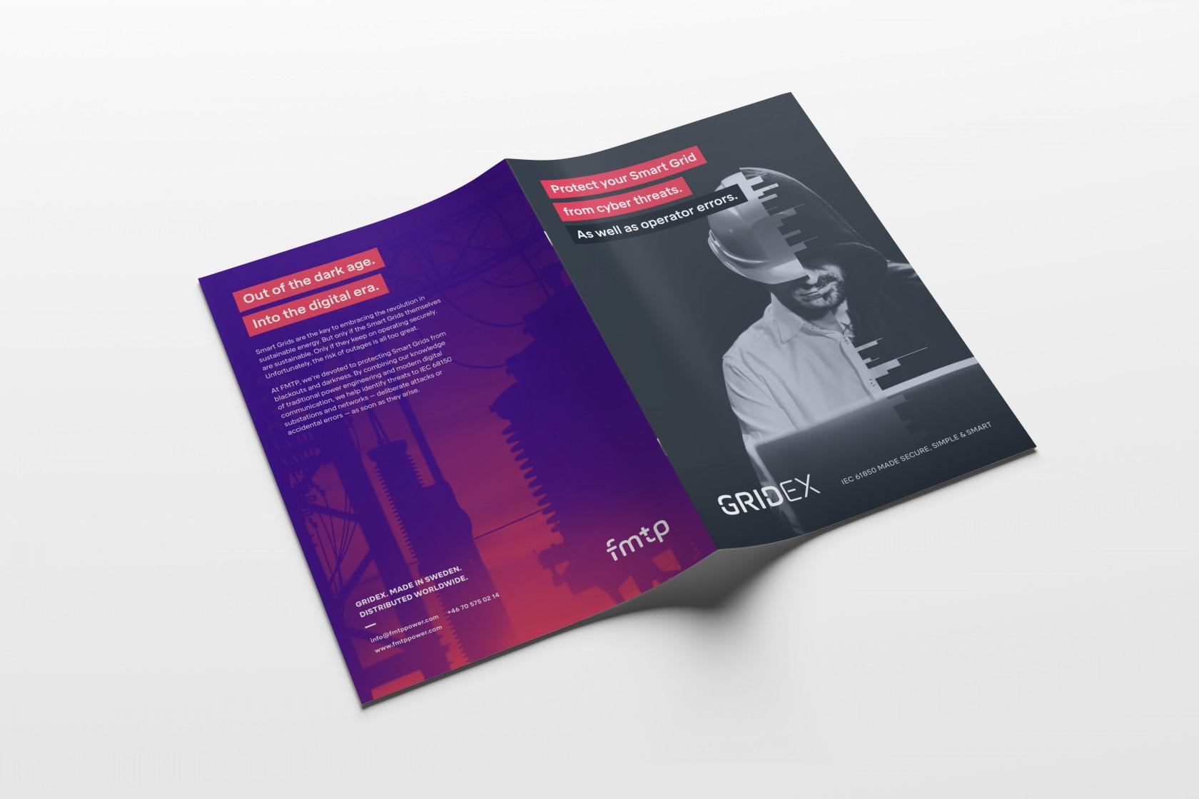 Broschyr till FMTP, ett intressant uppdrag inom design & kommunikation.