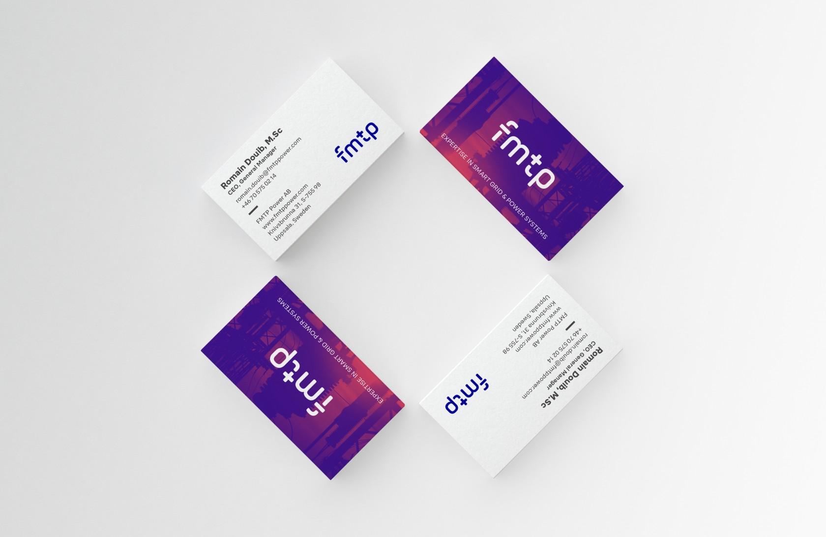 Visitkort och övrigt grafiskt material, ett intressant uppdrag inom design & kommunikation av Phosworks 4